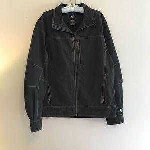 Kuhl vintage patina dye BURR jacket, size L